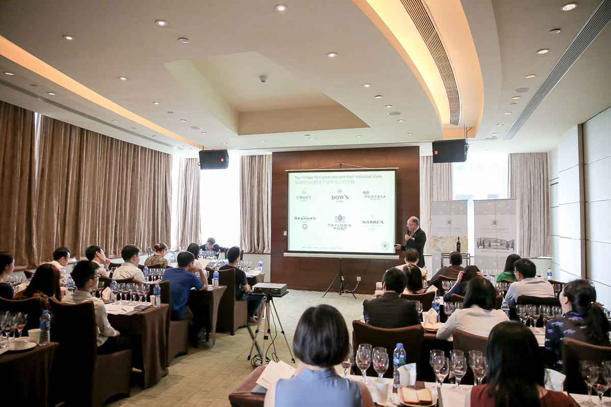 The Vintage Port Academy Workshops Guangzhou and Hong Kong