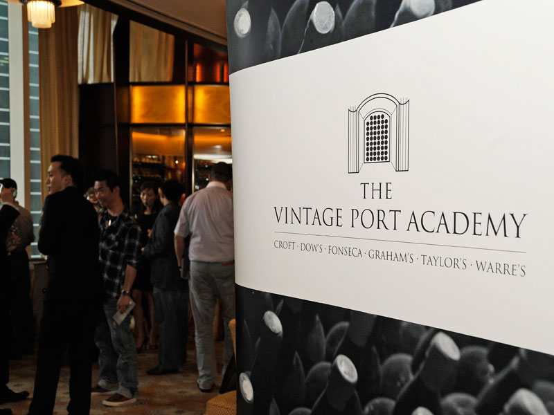 The Vintage Port Academy Trade Tasting – Six classic Vintage Port houses show highlights from their portfolios